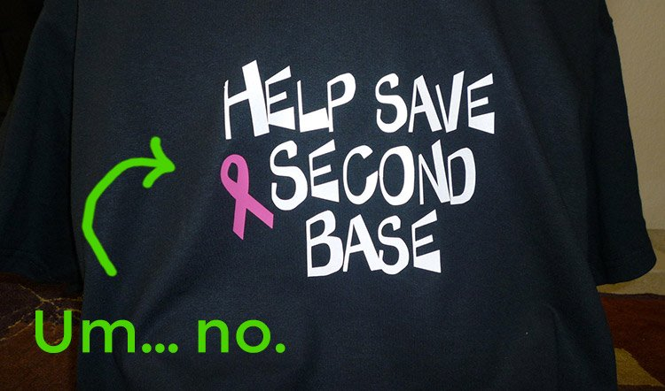 Sexualizing breast cancer awareness