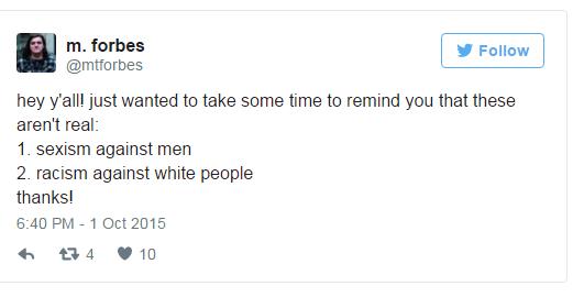 Reverse Oppression